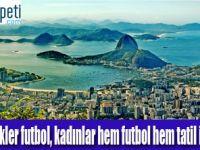 Rio'ya gitmek isteyenlerin yaklaşık %35'i kadın
