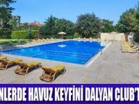Dalyan Club'te hem yeşilin, hem havuzun tadını çıkarın