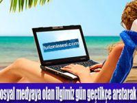 TÜRKLER TATİLDE DE İNTERNETSİZ YAPAMIYOR