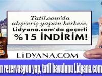 Tatil.com, Lidyana.com'dan kazandırıyor