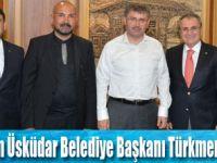 TUROB heyeti Üsküdar Belediyesini  ziyareti etti