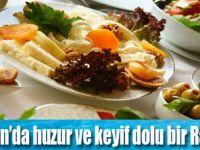 Ramazan ayında termal ve iftar keyfi