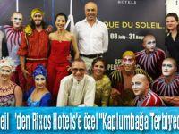 Cirque du Soleil'den Osmanlı Esintisi