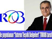 """""""Yatırım Teşvik Belgeleri""""  yayınlandı"""