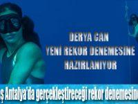 DERYA CAN'DAN YENİ DÜNYA REKORU DENEMESİ!