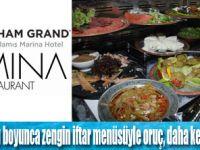 Ramazan ayı boyunca zengin iftar menüsü