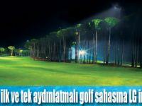 Antalya Carya Golf, 24 saat aralıksız golf  tesisi