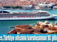 MSC Cruises,Türkiye Seferlerini Arttırıyor