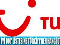 TUI'nin en iyi 100 otel listesi açıklandı