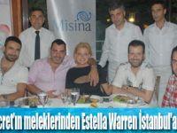 Estella Warren İstanbul'a Geldi