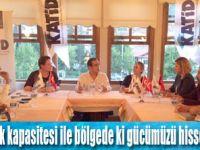 Murat TOKTAŞ Amasyalı otelcilerle bir araya geldi