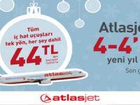 Atlasjet'ten 4-4'lük Yeni Yıl Hediyesi