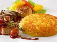 Patatesin en lezzetli hali: Röşti