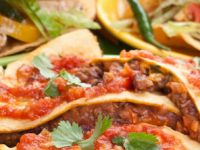 Mutfakta Teksas Meksika Buluşması