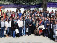 Başkan Topbaş turizmcilerle buluştu