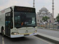 İETT otobüsleri sahura kadar çalışacak
