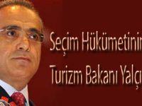 Kültür veTurizm Bakanı Yalçın Topçu oldu