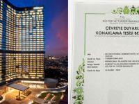 Hilton İstanbul Bomonti'ye 'Yeşil Yıldız' tescili