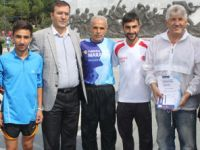 """Fatih Çintimar, """"Barışa Koşuyoruz"""" yarışmasına katılan Keşanlı atletleri Kutladı"""