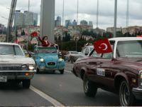 İKOD Üyeleri, 200 Klasik Araçla Konvoyu Oluşturdu