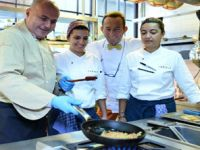 Lübnan lezzetleriyle misafirlerini ağırladı