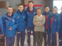 Romanya olimpiyat tekvando takımı İstanbul'da