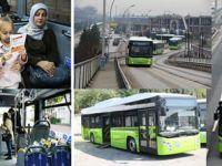 Yeni otobüsler 1 Şubat'ta seferlere başladı