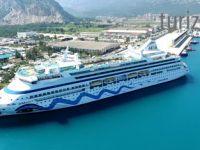Antalya Limanı Kruvaziyer Turizm Sezonunu Açtı