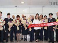 Air Canada, Türkiye'deki hedefini büyütüyor