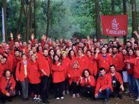 Emirates sporun her alanına destek veriyor