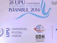 26.Dünya Posta Kongresi İstanbul'da gerçekleşecek