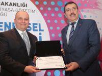 Gümrük ve Ticaret Bakanlığı'ndanArçelik A.Ş.'ye Ödül