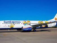 SunExpress son uçağını Minyonlar karakterleriyle giydirdi