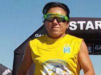 Bakiye Duran, Tuz Gölü'nde otizm farkındalığı için 100 mil koştu