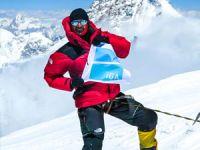 Milli Dağcı Tunç Fındık, İGA bayrağını Broad Peak zirvesinde dalgalandırdı