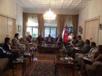 Turizmciler T.C. Selanik Başkonsolosluğu'nda gerçekleşen turizm ilişkileri toplantısına katıldı