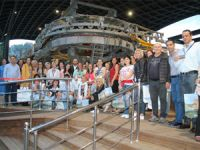 Christian Tour'un Macaristanlı acente temsilcileri Alanya'da