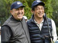 Regnum Carya'daki National Golf Kulübü'nde düzenlenen özel turnuvaya Dışişleri Bakanı Mevlüt Çavuşoğlu da katıldı