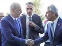 Değişim Hareketi Lideri Firuz Bağlıkaya, Kültür Turizm Bakanı Numan Kurtulmuş ile görüştü