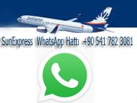 SunExpress, WhatsApp üzerinden müşterilerine hizmet sunan ilk tatil havayolu şirketi oldu