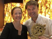 Yeniköy Rotary Kulübünden Saffet Emre Tonguç'a üstün hizmet ödülü