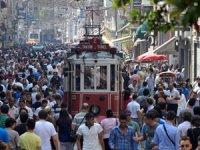Türkiye nüfusunun % 18,6'sını barındıran İstanbul, 15 milyon 29 bin 231 kişi ile Türkiye'nin zirvesinde