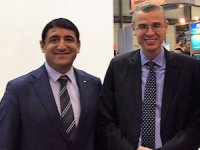 İsrail Turizm Bakanı Yariv Levin, Türkiye standını ziyaret etti