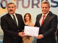 TUTAP Genel Başkanı Fikret Yıldız'a Dünya Mirası Türkiye Ödülü