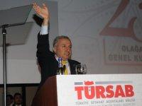 TÜRSAB Başkanı Başaran Ulusoy'un konuşması gerilimli ve kesintili gerçekleşti