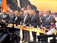 Dünyanın en büyük turizm fuarı ITB Berlin'in açılışını Almanya Başbakanı Angela Merkel yaptı