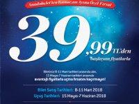 AnadoluJet, Ramazan ayında, yolcularına kaçırılmayacak fırsat sunuyor