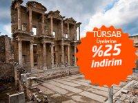 TÜRSAB'ın yeni yönetimi, üyelerine yüzde 25 indirimle bilet temin etmeye başladı