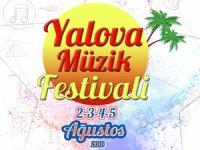 Yalova Müzik Festivali, 2-5 Ağustos 2018 tarihinde Yalova sahilinde gerçekleşecek