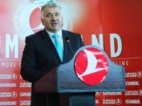 Semerkant Türk Hava Yolları'nın 302. noktası olarak uçuş ağına eklendi